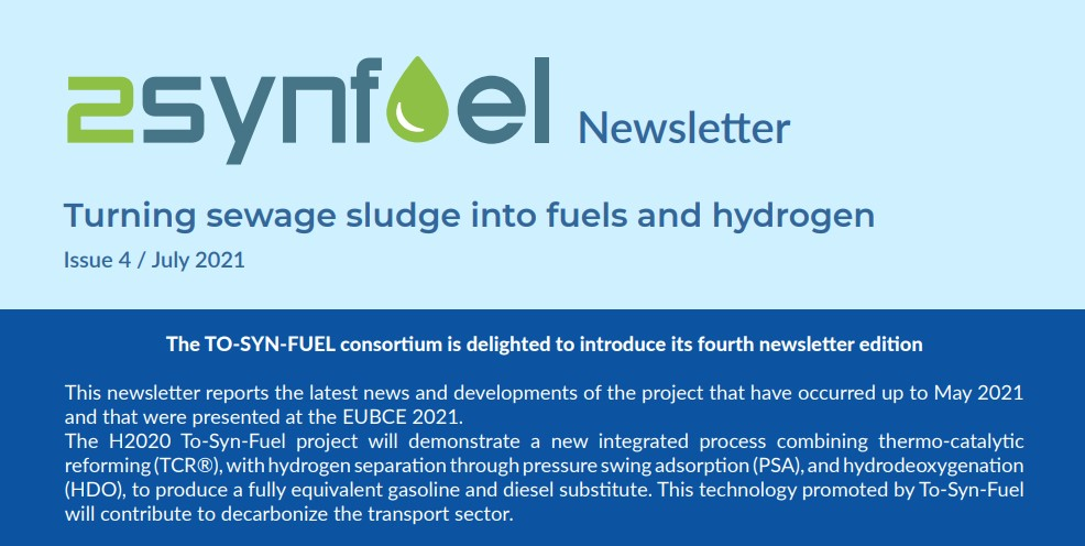 TO-SYN-FUEL Newsletter, Issue 4